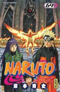 Naruto tome 64 couverture