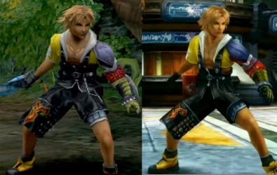 Remakes HD Final Fantasy X comparatif