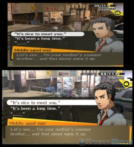 Remakes HD Persona 4 comparatif