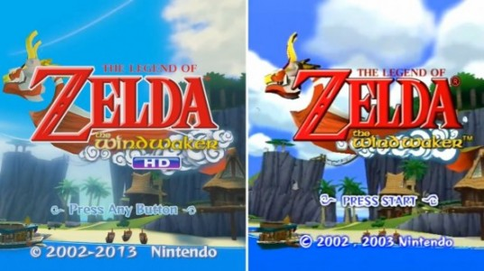 Remakes HD Wind Waker comparatif