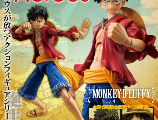 Les Variable Action HEROES One Piece arrivent