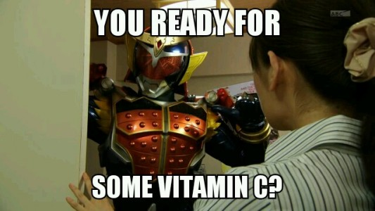 Kamen Rider Gaim Some Vitamine C