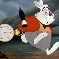 Le lapin d'Alice au pays des merveille