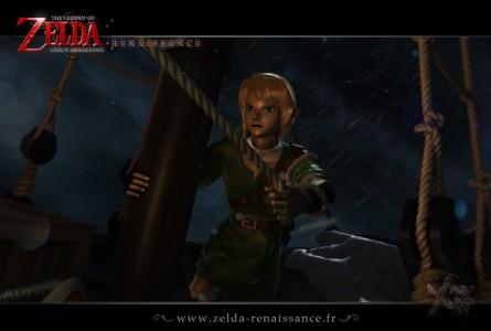 Zelda Link's Awakening Renaissance - Artwork Tempête