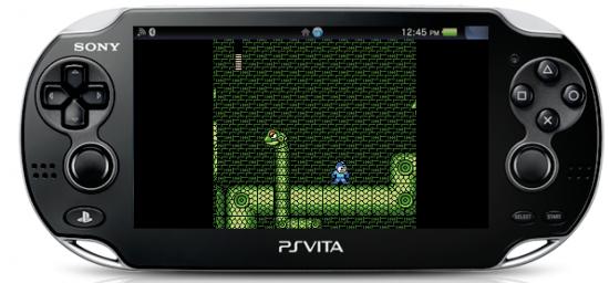Megaman 3 sur PlayStation Vita