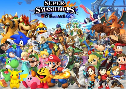 Super Smash Bros for Wii U personnages