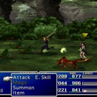 Final Fantasy VII attaque