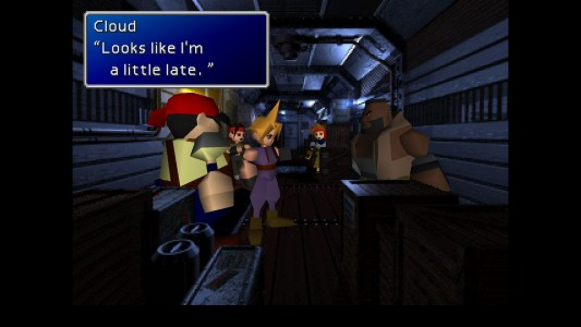Final Fantasy VII dialogue