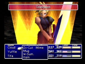 Final Fantasy VII limite