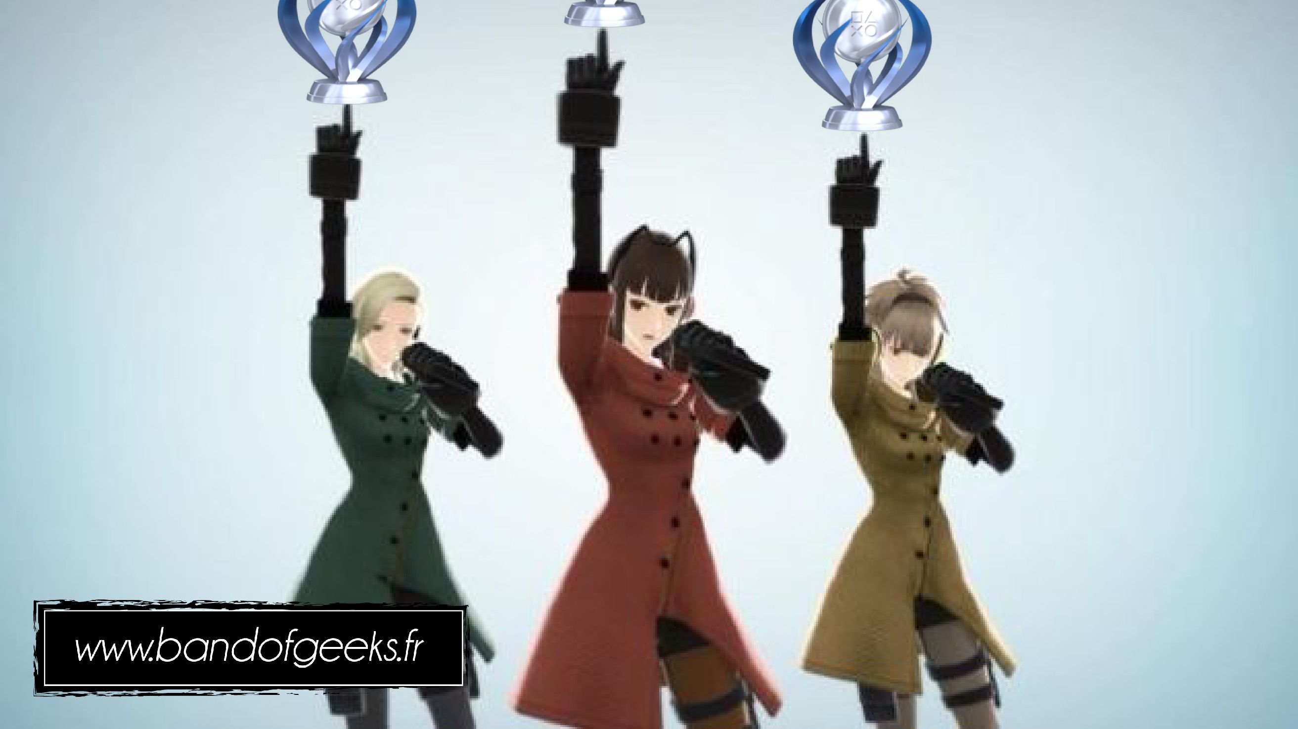 Trophée Platine Freedom Wars Band of Geeks (1)