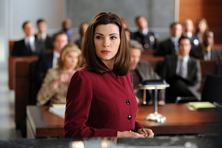 Alicia Florrick plaidoirie The Good Wife