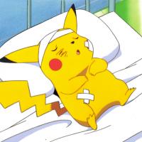 Pikachu prends des coups