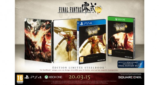 Final Fantasy Type 0 HD édition steelbook