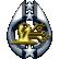 Mass Effect Bronze Trophy Power Neural Shock