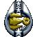 Mass Effect Bronze Trophy Power Throw
