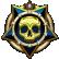 Mass Effect Gold Trophy Medal of Valor