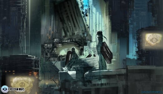 Freedom Wars Artwork