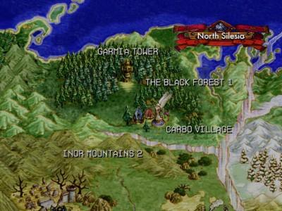 Grandia II carte du monde