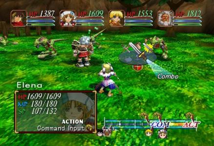 Grandia II combat 2