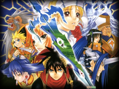 Grandia II personnages