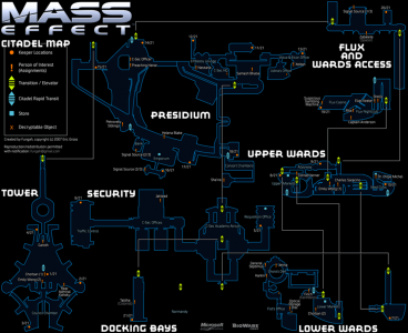 Mass Effect Citadel Map with submissions