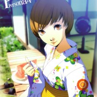 chie satonaka kimono Persona 4 golden