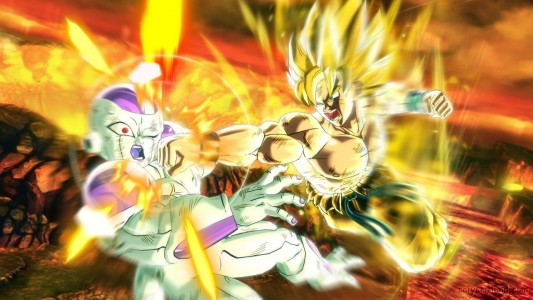 Dragon Ball Xenoverse Goku Frieza
