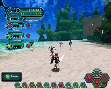 Dreamcast Phantasy Star Online