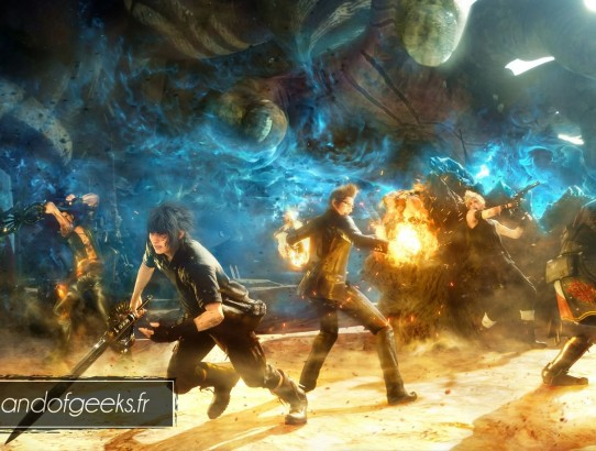 Démo Final Fantasy XV Episode Duscae Band of Geeks (3)