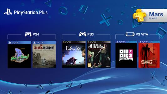 PlayStation Plus Mois Mars 2015