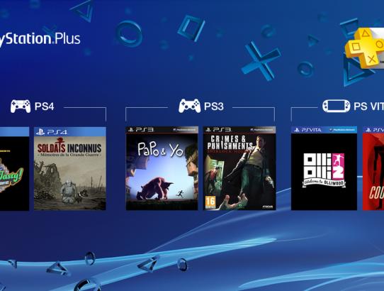 Le PlayStation Plus de Mars est là