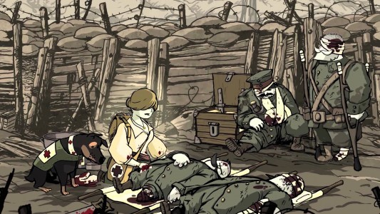 Soldats Inconnus infirmière et Chien blessés de guerre