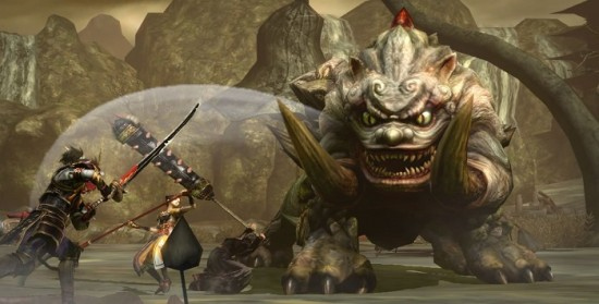 Toukiden Kiwami Oni Band of Geeks Thanatoceros