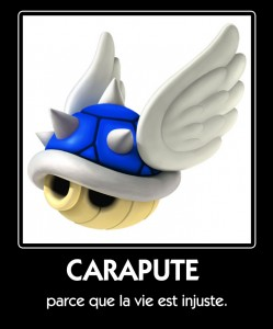 Carapace Bleue Mario Kart
