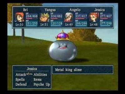 Dragon Quest VIII Roi gluant de métal