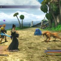 Final Fantasy X combat