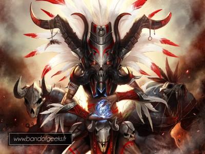 Diablo 3 Trophée Platine Band of Geeks