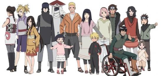 Naruto Gaiden The Seventh Hokage équipe