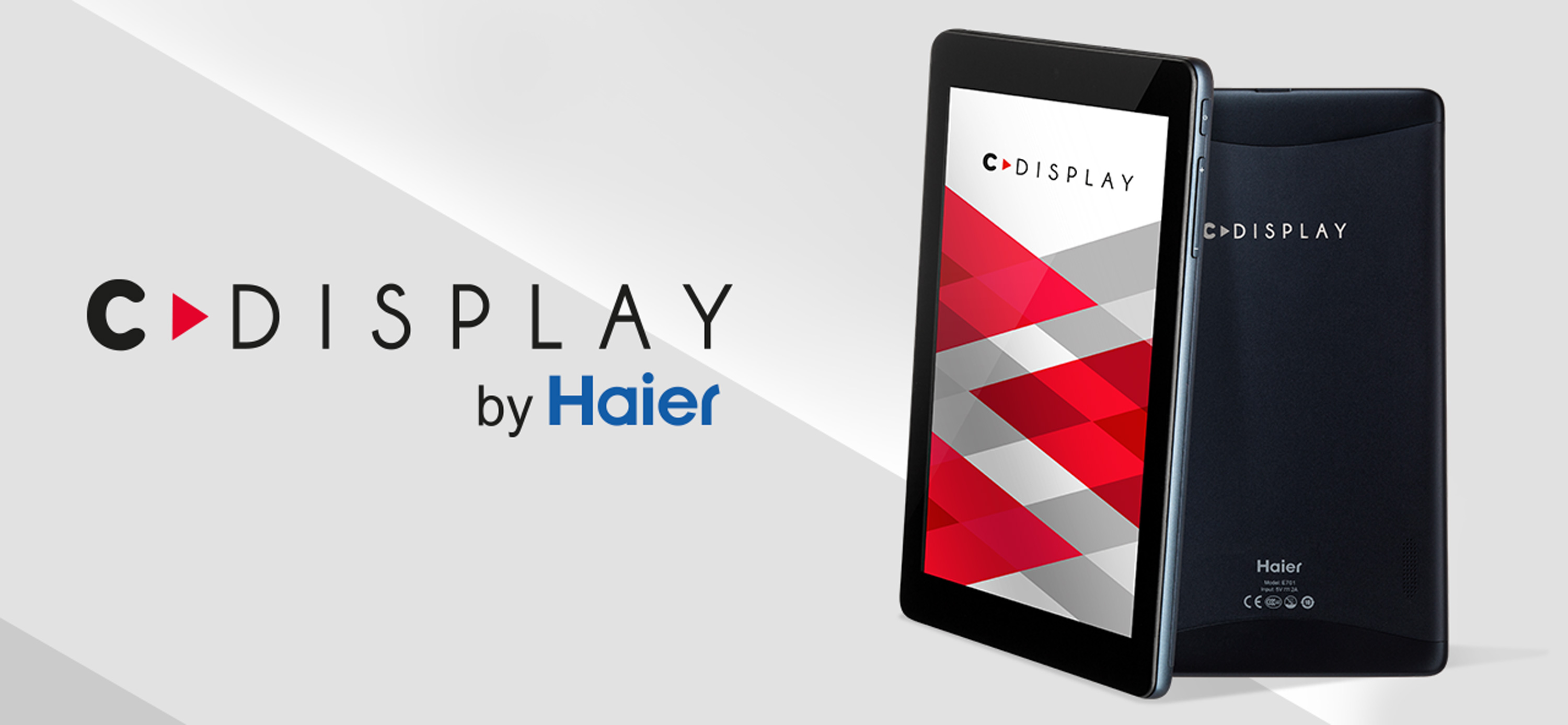 "[Achat] Tablette 7"" Cdisplay Haier Band of Geeks (1)"