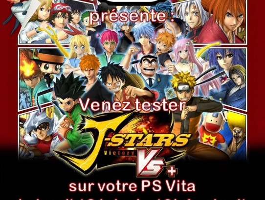 J-Stars Victory Versus+ VITA in Paris Band of Geeks (1)