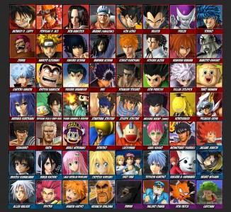 J-Stars Victory Versus+ personnages
