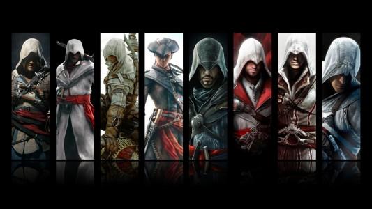 Jeux à saga Assassin's Creed personnages principaux