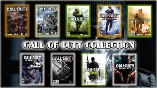Jeux à saga Call of Duty collection