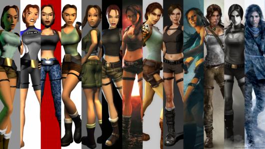 Jeux à saga Tomb Raider Lara Croft