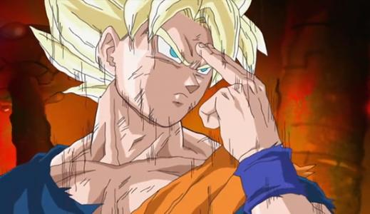 Téléportation instantanée Goku