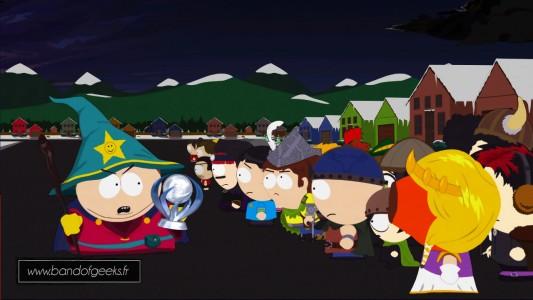 Trophee Platine South Park le Baton de la verite Band of Geeks