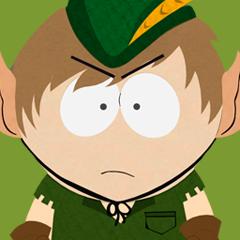 Trophee bronze South Park le Baton de la verite Colère du dragon