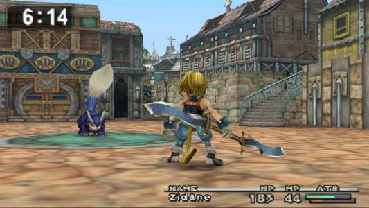 Final Fantasy IX combat fête de la chasse