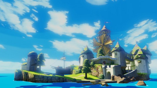 The Legend of Zelda Wind Waker Mercant'île