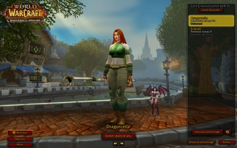 World of Warcraft rouquine